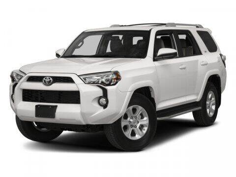 2017 Toyota 4Runner for sale at Auto Finance of Raleigh in Raleigh NC