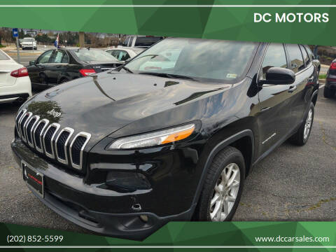 2018 Jeep Cherokee for sale at DC Motors in Springfield VA