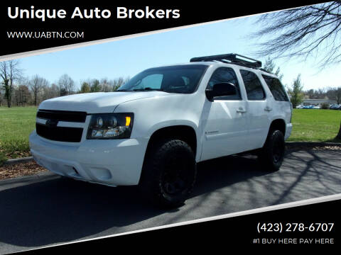 2009 Chevrolet Tahoe for sale at Unique Auto Brokers in Kingsport TN