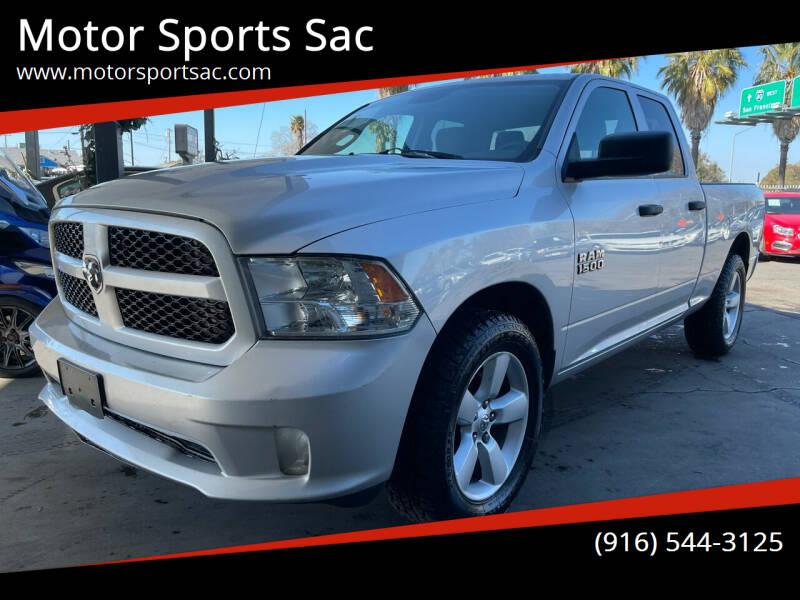 2016 RAM Ram Pickup 1500 for sale at Motor Sports Sac in Sacramento CA