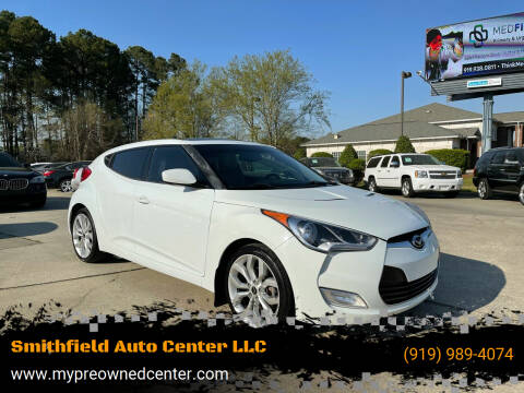 2013 Hyundai Veloster for sale at Smithfield Auto Center LLC in Smithfield NC