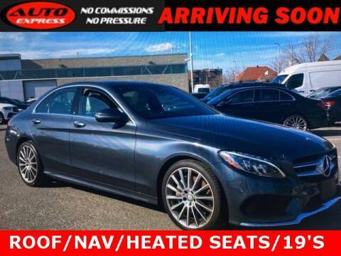 2016 Mercedes-Benz C-Class for sale at Auto Express in Lafayette IN