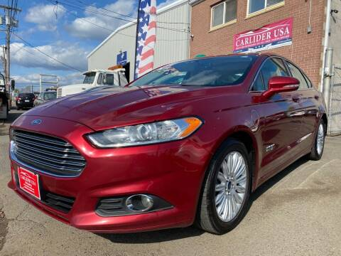 2016 Ford Fusion Energi for sale at Carlider USA in Everett MA