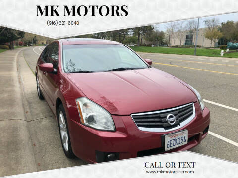 2007 Nissan Maxima for sale at MK Motors in Sacramento CA