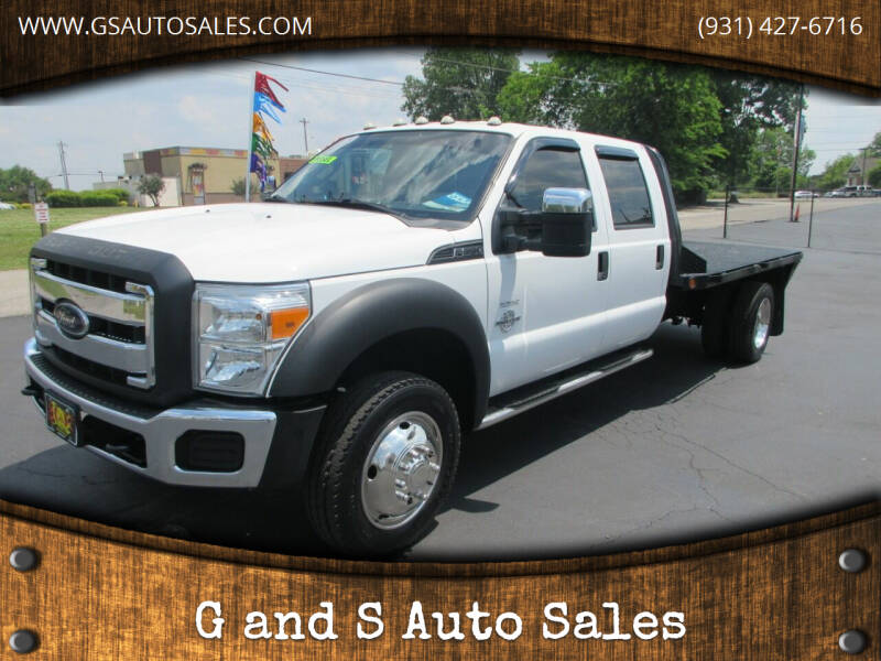 2012 Ford F-550 Super Duty for sale at G and S Auto Sales in Ardmore TN