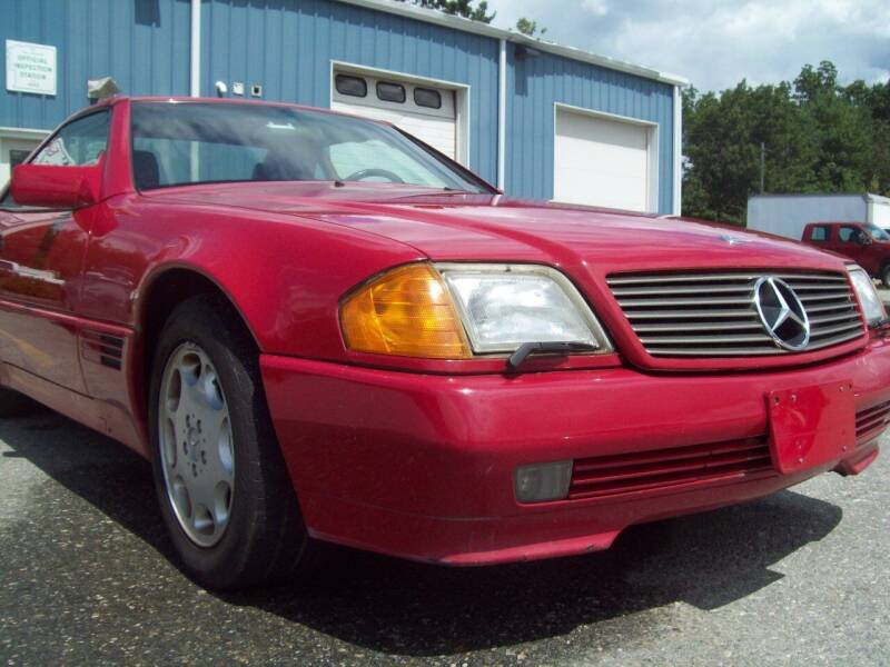 1994 Mercedes-Benz SL-Class for sale at Frank Coffey in Milford NH