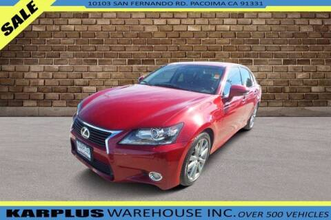 2013 Lexus GS 450h for sale at Karplus Warehouse in Pacoima CA