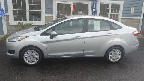 2014 Ford Fiesta for sale at Pool Auto Sales Inc in Spencerport NY