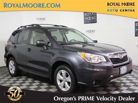 2016 Subaru Forester for sale at Royal Moore Custom Finance in Hillsboro OR