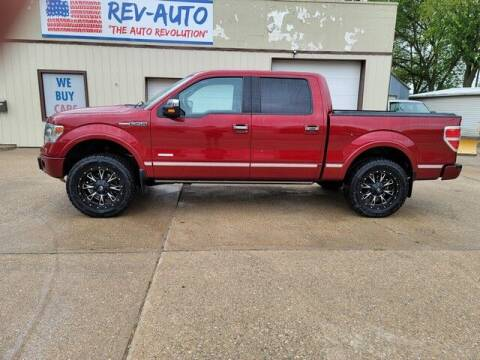 2013 Ford F-150 for sale at Rev Auto in Clarion IA