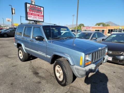 1999 Jeep Cherokee for sale at ATLAS MOTORS INC in Salt Lake City UT