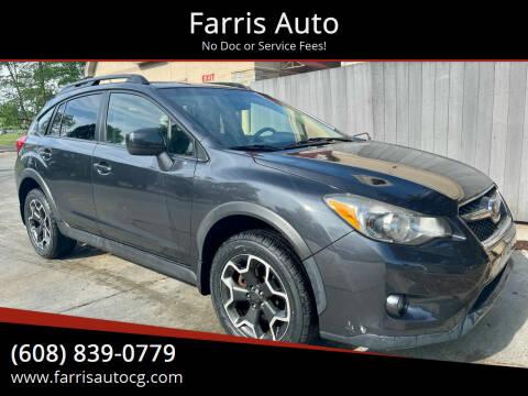 2014 Subaru XV Crosstrek for sale at Farris Auto - Main Street in Stoughton WI