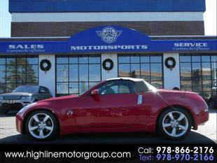 2006 Nissan 350Z for sale at Highline Group Motorsports in Lowell MA