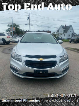 2016 Chevrolet Cruze Limited for sale at Top End Auto in North Attleboro MA