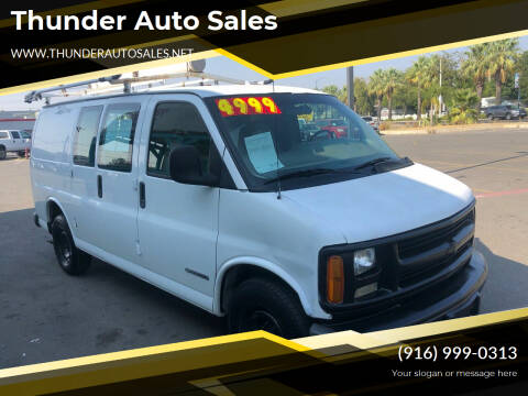 2001 Chevrolet Express Cargo for sale at Thunder Auto Sales in Sacramento CA
