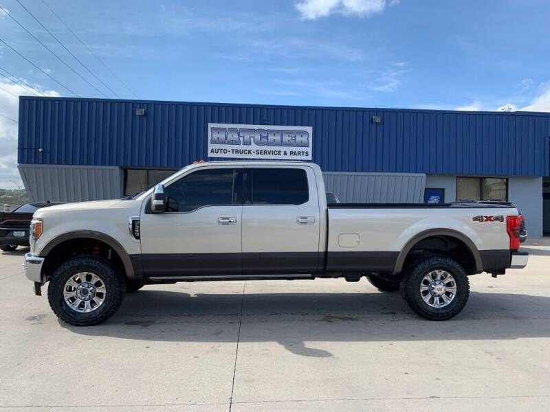 2017 Ford F-350 Super Duty for sale at HATCHER MOBILE SERVICES & SALES in Omaha NE