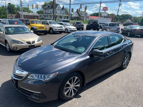 2015 Acura TLX for sale at Masic Motors, Inc. in Harrisburg PA