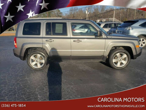 2013 Jeep Patriot for sale at CAROLINA MOTORS in Thomasville NC