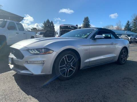 2019 Ford Mustang for sale at South Commercial Auto Sales in Salem OR