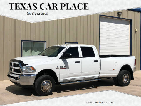 2013 RAM Ram Pickup 3500 for sale at TEXAS CAR PLACE in Lubbock TX