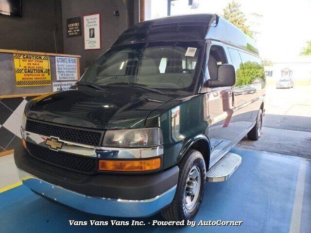 2012 Chevrolet Express Passenger for sale at Vans Vans Vans INC in Blauvelt NY