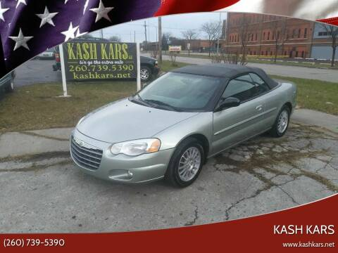 2006 Chrysler Sebring for sale at Kash Kars in Fort Wayne IN