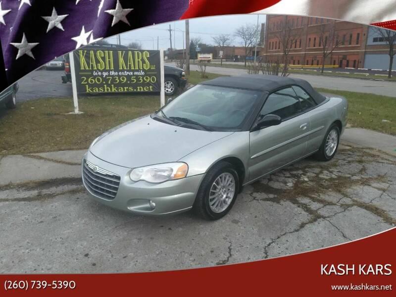 2006 Chrysler Sebring for sale at Kash Kars in Fort Wayne IN
