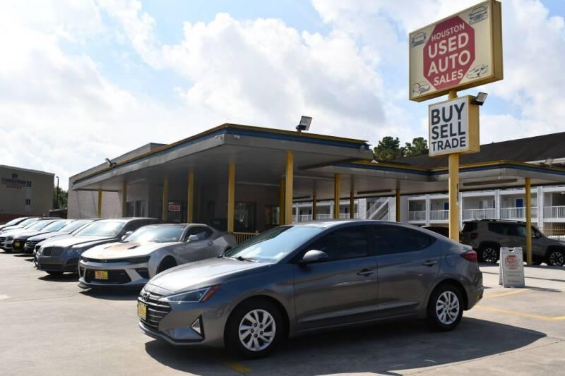 2019 Hyundai Elantra for sale at Houston Used Auto Sales in Houston TX