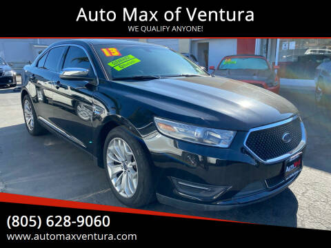 2013 Ford Taurus for sale at Auto Max of Ventura in Ventura CA
