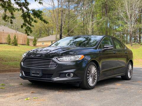 2013 Ford Fusion for sale at Top Notch Luxury Motors in Decatur GA