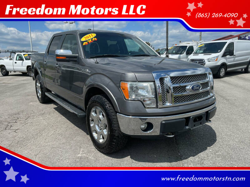 2011 Ford F-150 for sale at Freedom Motors LLC in Knoxville TN