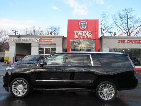 2017 Cadillac Escalade ESV for sale at Twins Auto Sales Inc in Detroit MI