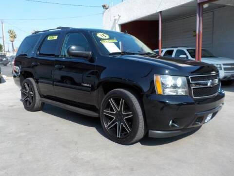 2013 Chevrolet Tahoe for sale at Bell's Auto Sales in Corona CA