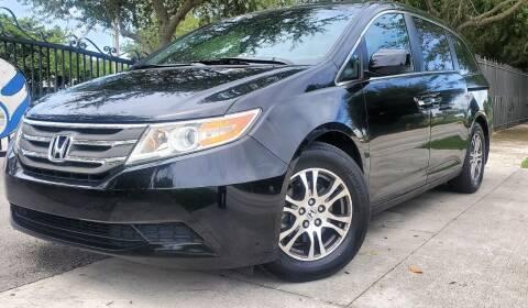 2012 Honda Odyssey for sale at POLLO AUTO SOLUTIONS in Miami FL