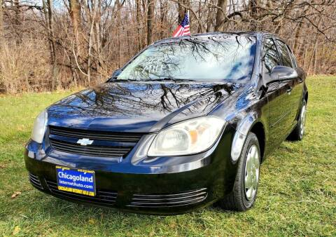 2010 Chevrolet Cobalt for sale at Chicagoland Internet Auto - 410 N Vine St New Lenox IL, 60451 in New Lenox IL