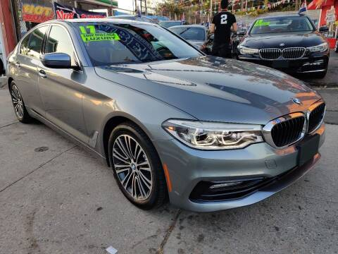 2017 BMW 5 Series for sale at LIBERTY AUTOLAND INC - LIBERTY AUTOLAND II INC in Queens Villiage NY