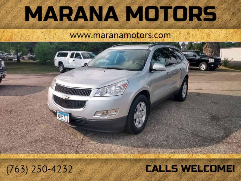 2011 Chevrolet Traverse for sale at Marana Motors in Princeton MN
