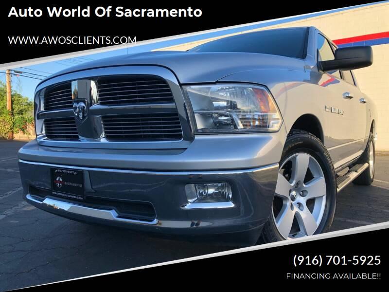 2011 RAM Ram Pickup 1500 for sale at Auto World of Sacramento Stockton Blvd in Sacramento CA