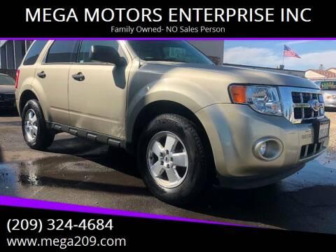 2012 Ford Escape for sale at MEGA MOTORS ENTERPRISE INC in Modesto CA