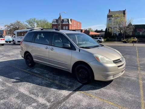 2004 Toyota Sienna for sale at DC Auto Sales Inc in Saint Louis MO