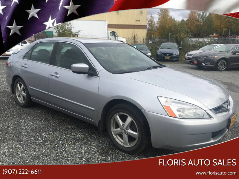 2003 Honda Accord for sale at FLORIS AUTO SALES in Anchorage AK