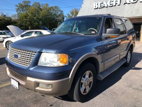 2004 Ford Expedition for sale at Beach Auto Sales in Virginia Beach VA