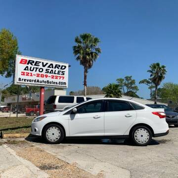 2013 Ford Focus for sale at Brevard Auto Sales in Palm Bay FL