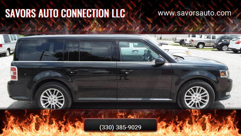 2013 Ford Flex for sale at SAVORS AUTO CONNECTION LLC in East Liverpool OH