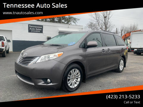 2013 Toyota Sienna for sale at Tennessee Auto Sales in Elizabethton TN