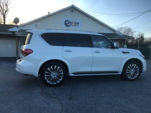 2016 Infiniti QX80 for sale at Driven Pre-Owned in Lenoir NC
