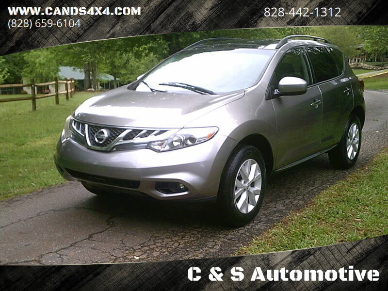 2011 Nissan Murano for sale at C & S Automotive in Nebo NC