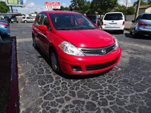 2011 Nissan Versa for sale at DONNY MILLS AUTO SALES in Largo FL
