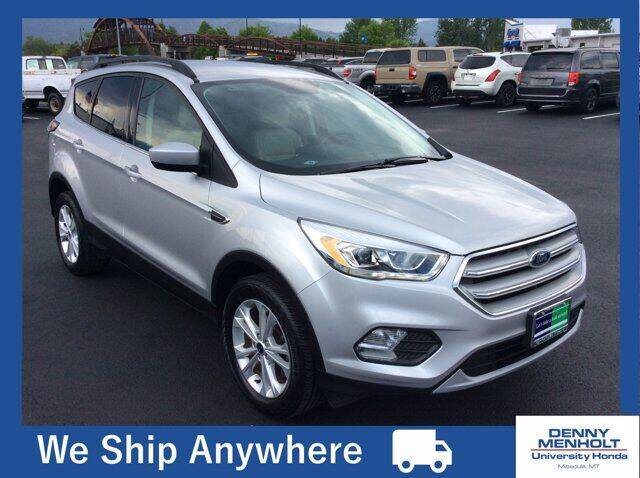 2018 Ford Escape for sale at Carmart 360 Missoula in Missoula MT