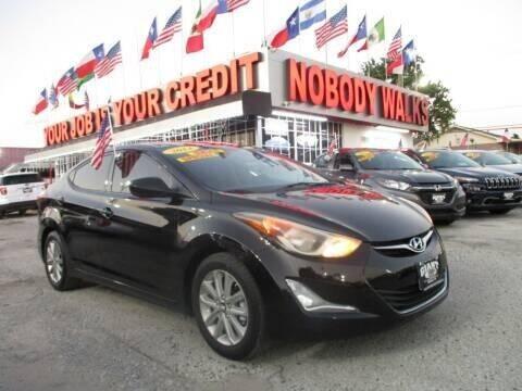 2014 Hyundai Elantra for sale at Giant Auto Mart 2 in Houston TX